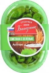 Сухарики Авертон Сметана/Зелень 100гр, шт