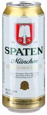 Шпатен Мюнхен Светлое 0,5л ж/б 5,2%