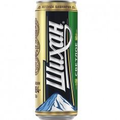 Пиво Шихан Светлое 4,7% 0,45л ж/б