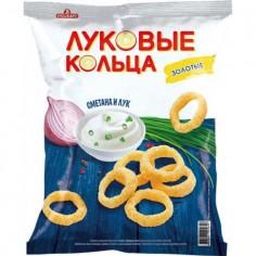 Луковые кольца Лук/Сметана Русскарт 100 гр