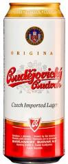 Пиво Будвайзер светлое 0,5л ж/б