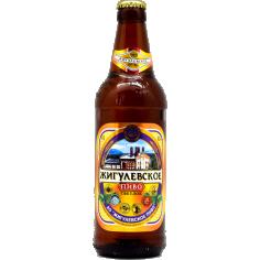 Пиво Жигулевское светлое  4,5% 0,5л ст/б