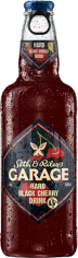 Пивной напиток Гараж Черная вишня 4,6% 0,44л ст/б