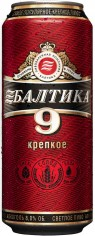 Пиво Балтика 9  8% 0,45л ж/б