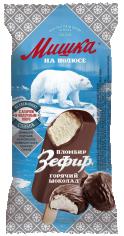 Мишка на полюсе эскимо пломбир зефир в мягком шоколаде 75гр